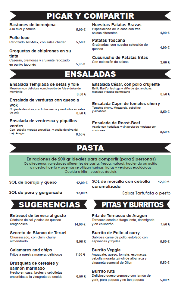 Picoteo tapas Puerto Venecia Zaragoza Restaurante