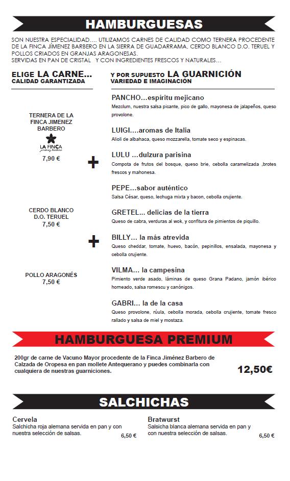 hamburguesas, burguer zaragoza puerto venecia restaurante